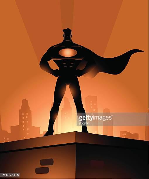 街のスーパーヒーロー保護