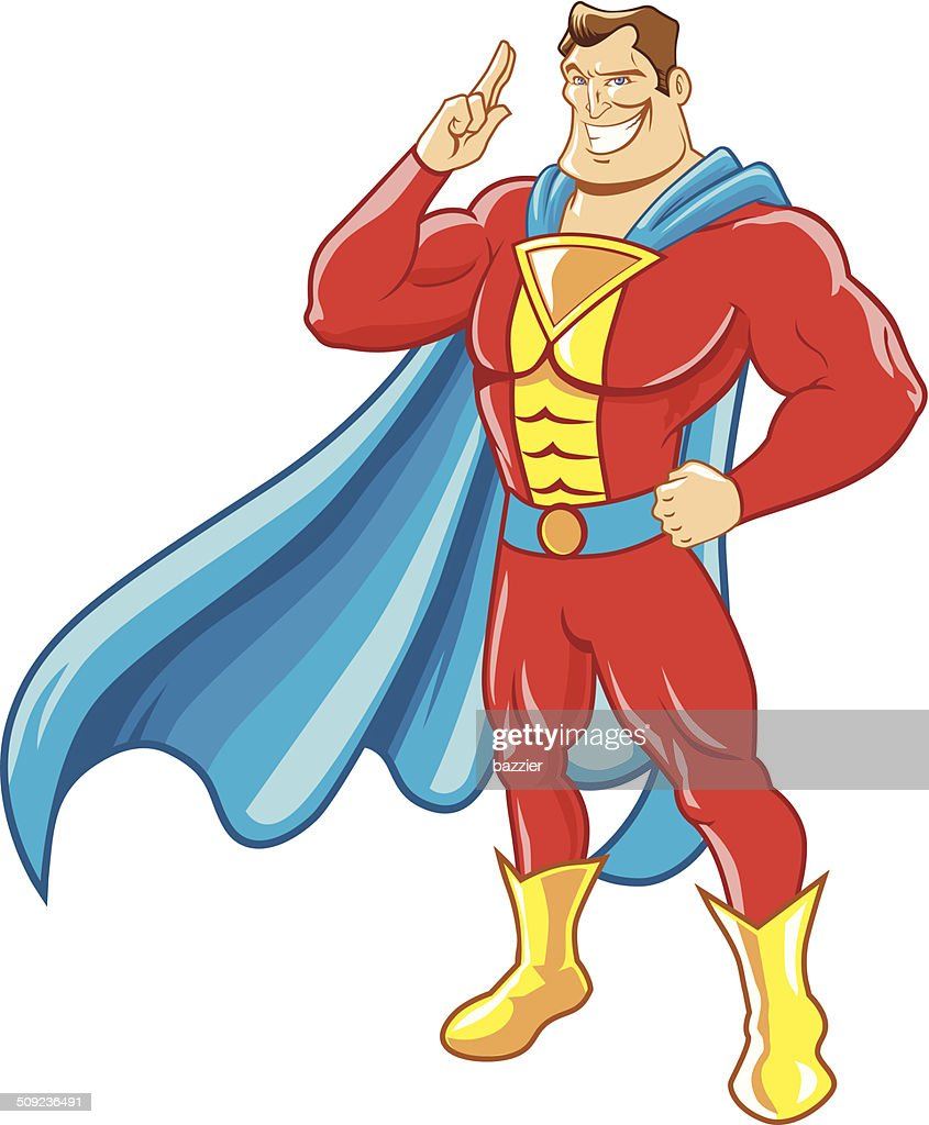 superhero salute