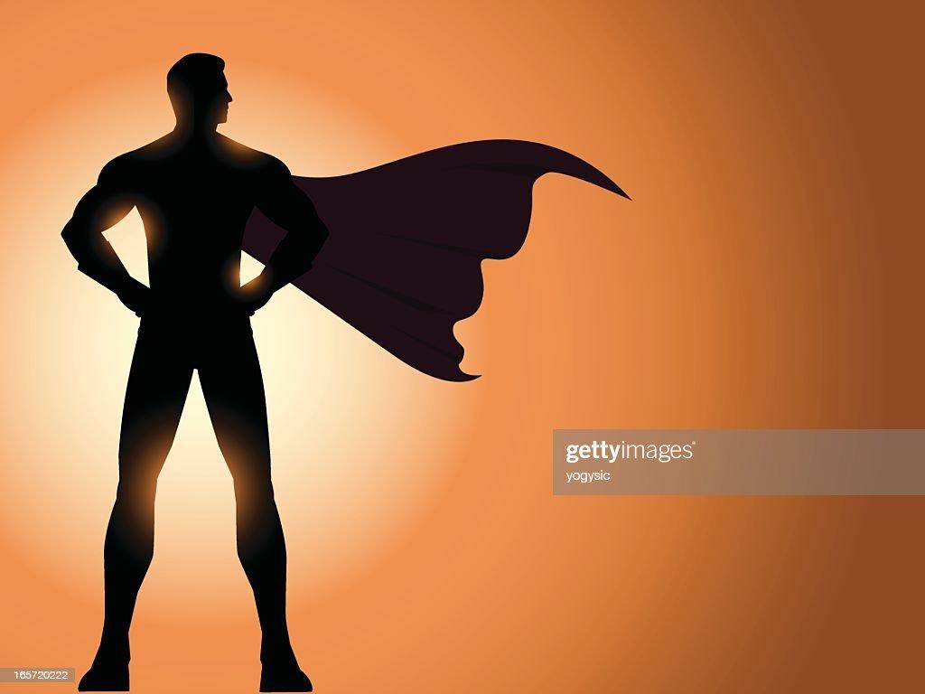 Superhero Silhouette