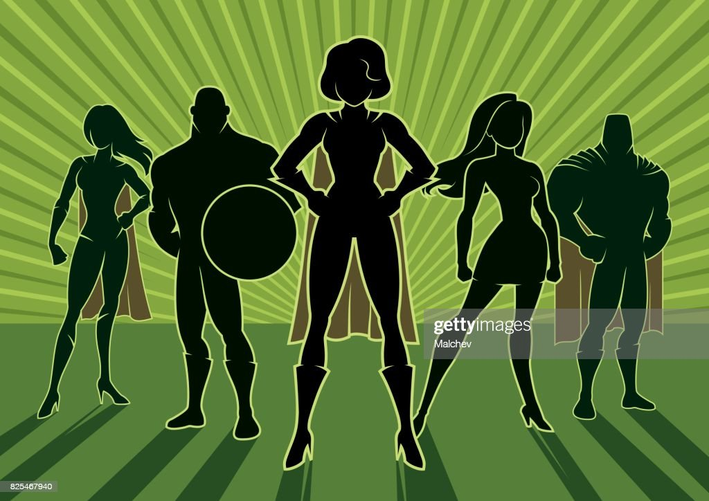 Superhero Team 3