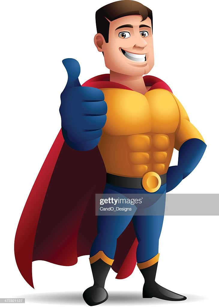 Superhero: Thumbs Up