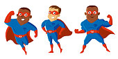 Superheroes Cartoon character