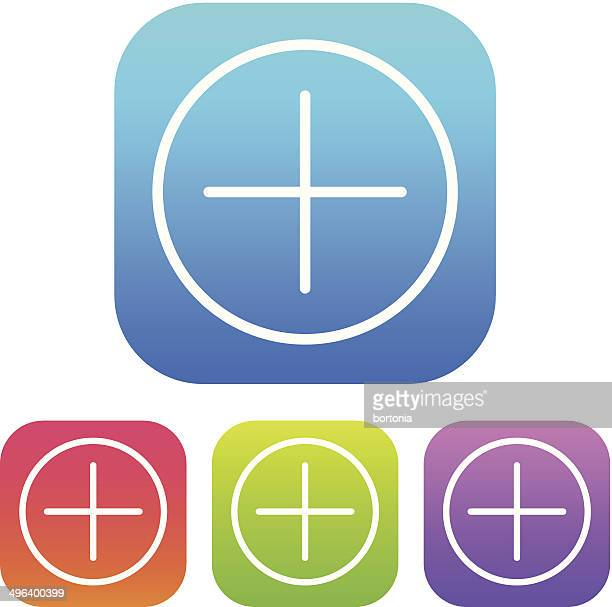 superlight interface add icon - plus sign stock illustrations, clip art, cartoons, & icons