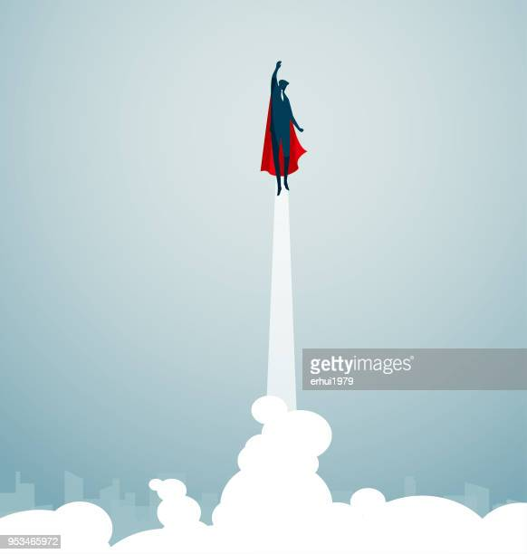 superman - superhero - heroes stock illustrations
