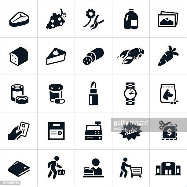 supermarket icons - pet equipment stock illustrations, clip art, cartoons, & icons