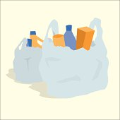 Free download of Plastic Bag vector graphics and illustrations