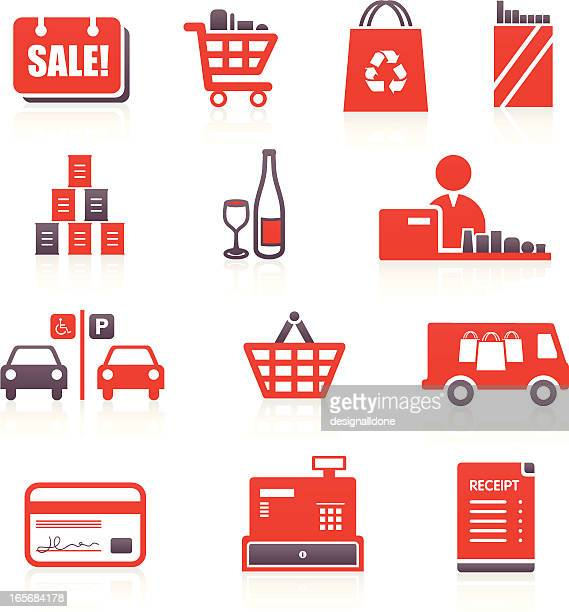 Supermarket & Shopping Icons