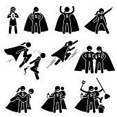 Superwoman Heroine Female Superhero.