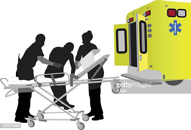 support from emergency worker - accidents and disasters stock illustrations, clip art, cartoons, & icons