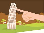 Supporting the Leaning Tower of Pisa with One Finger