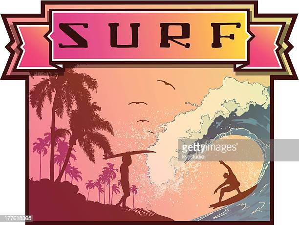 Surf Emblem Beach