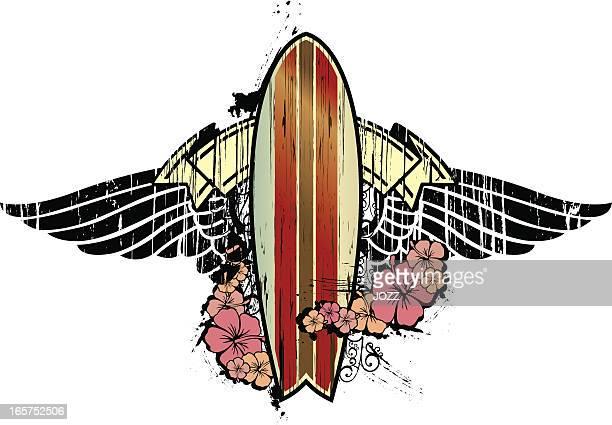 surfboard tribute