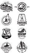 Surfing emblems