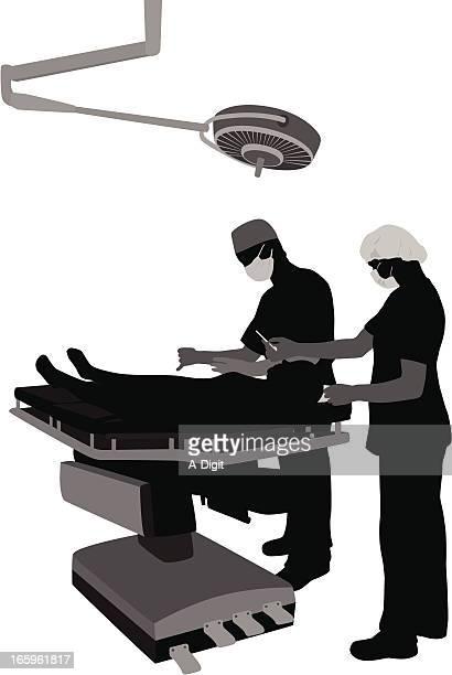 外科手術 - 医療処置点のイラスト素材/クリップアート素材/マンガ素材/アイコン素材
