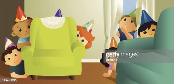 surprise (shhh!) - hidden stock illustrations, clip art, cartoons, & icons