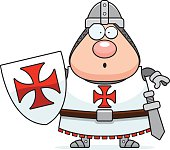 Surprised Cartoon Templar
