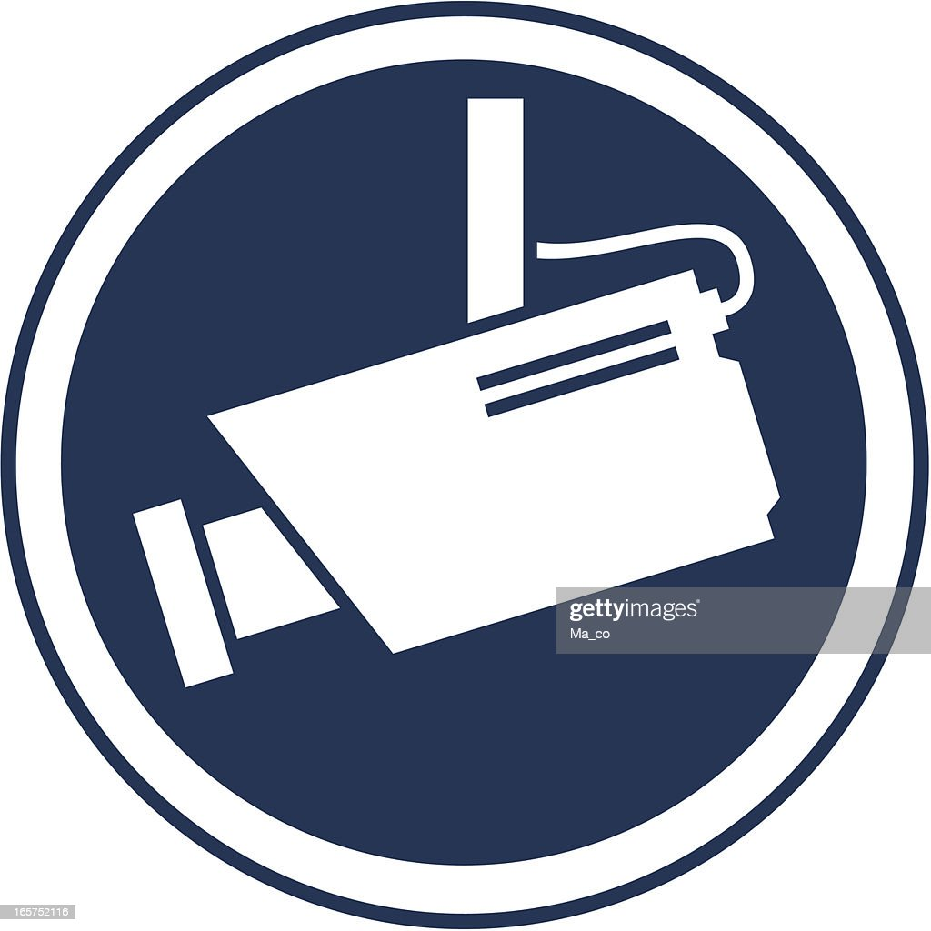 surveillance camera symbol