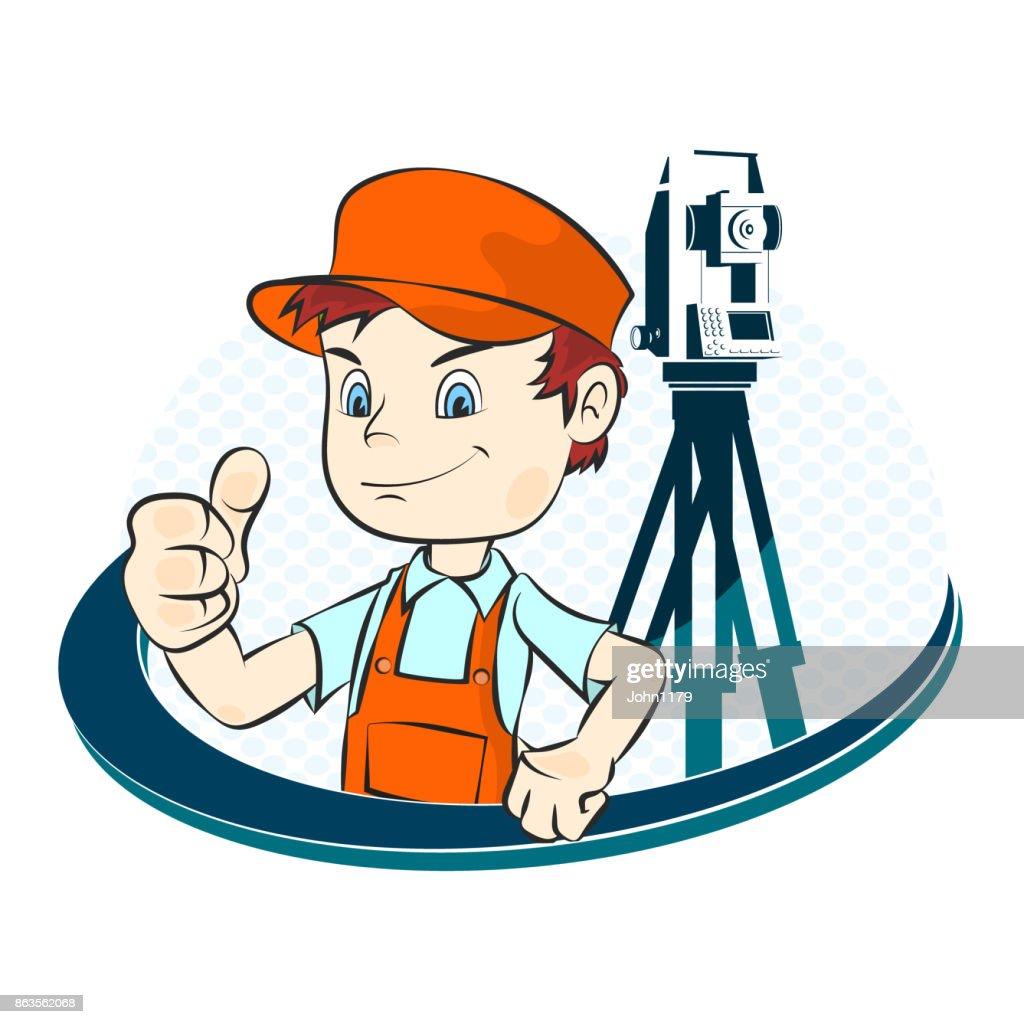 Surveyor illustration