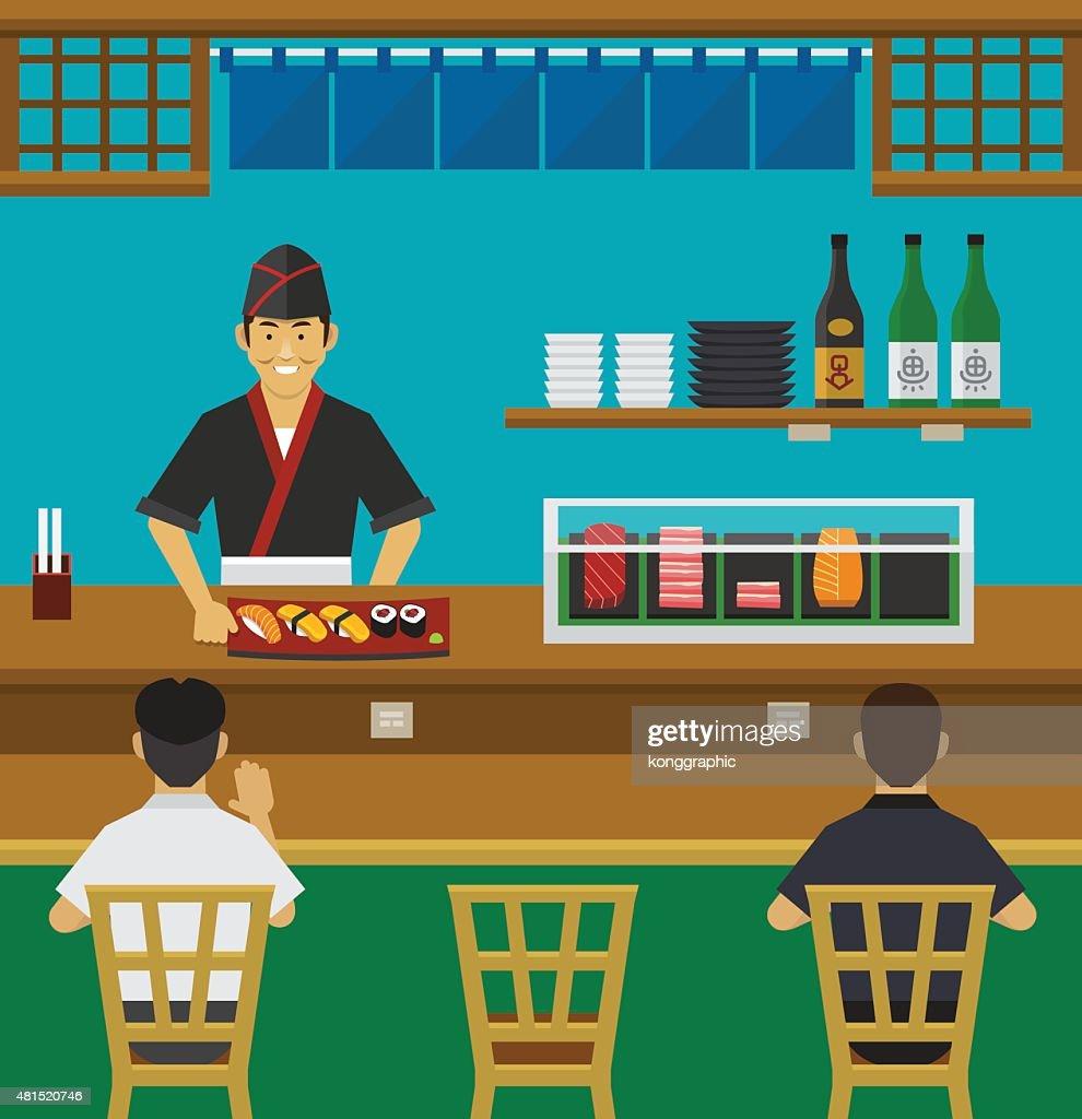 Sushi Bar, Japanese Restaurant