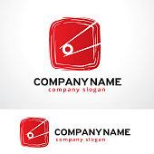 Sushi Bar Symbol Template Design Vector, Emblem, Design Concept, Creative Symbol, Icon