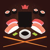 Sushi coat of arms