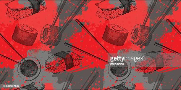 寿司のデザイン - 寿司点のイラスト素材/クリップアート素材/マンガ素材/アイコン素材