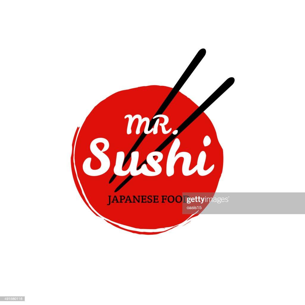 Sushi logo. Vector