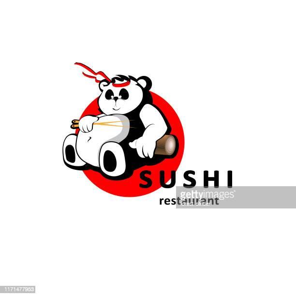 sushi restaurant icon - graphic print stock illustrations