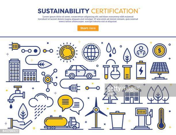 sustainability consulting concept - electricity stock illustrations, clip art, cartoons, & icons