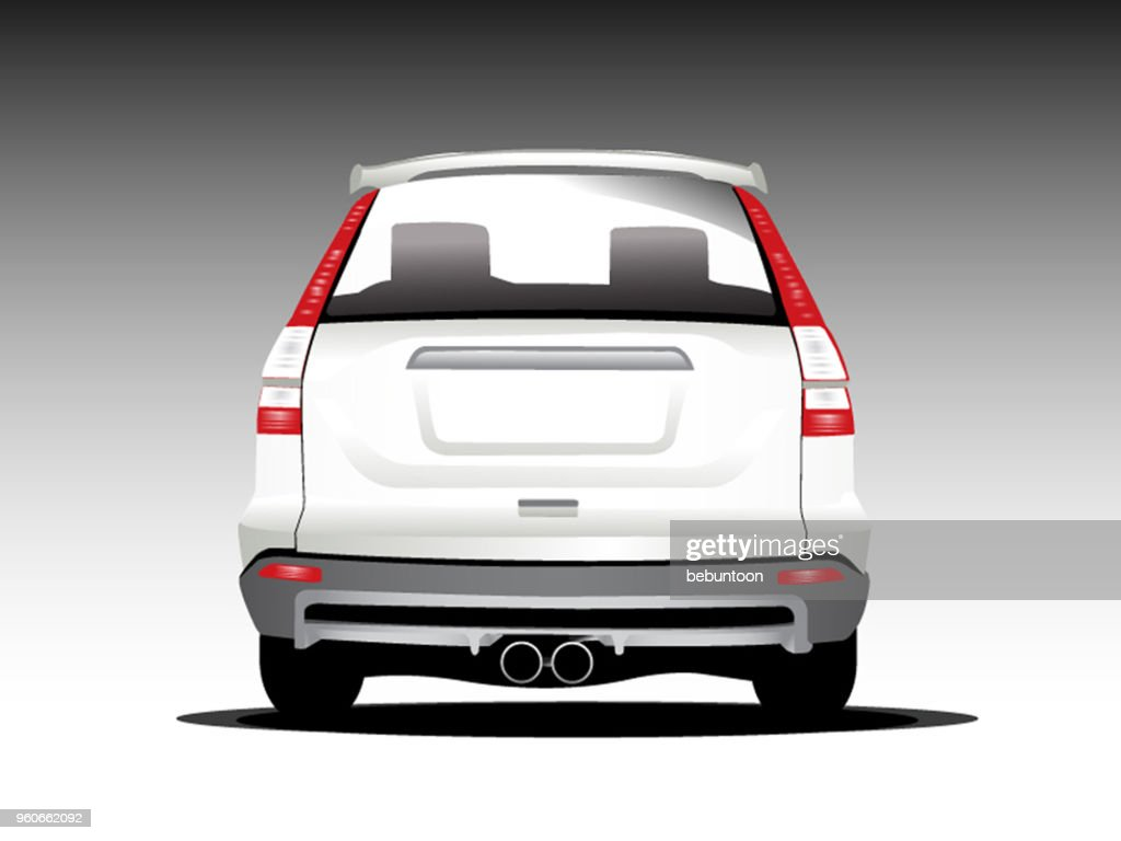 suv car. Vector illustration