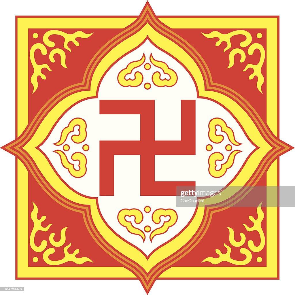 Swastika symbolbuddhist tradition pattern vector art getty images swastika symbol buddhist tradition pattern vector art biocorpaavc