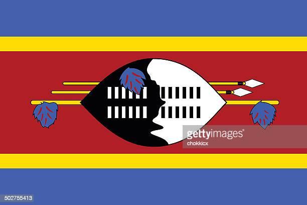 swaziland flag - eswatini stock illustrations, clip art, cartoons, & icons