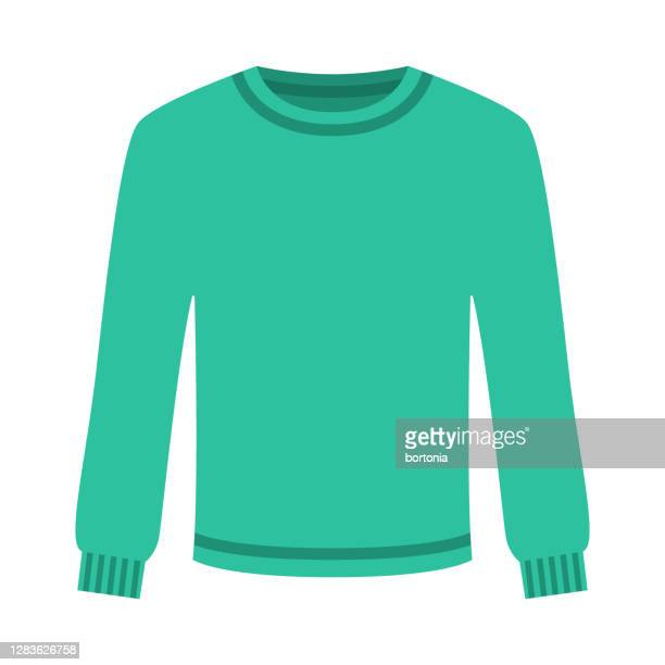 sweater icon on transparent background - jumper stock illustrations
