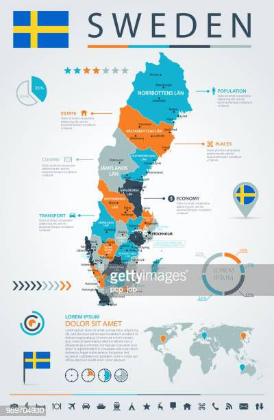 12 - Sweden - Blue-Orange Infographic 10