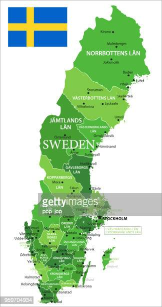 15 - Sweden - Green Isolated 10
