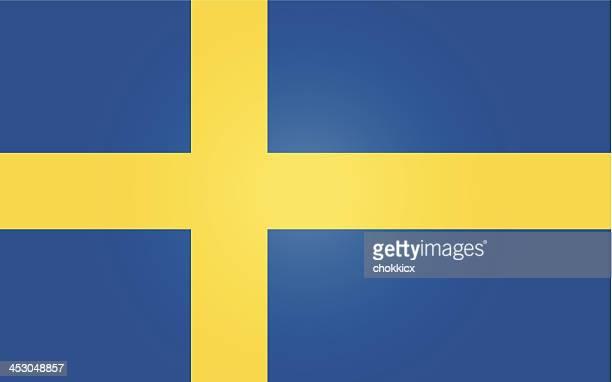 sweden or swedish flag