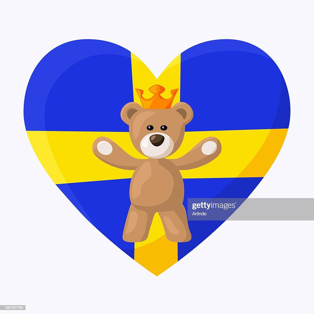 Swedish Royal Teddy Bear