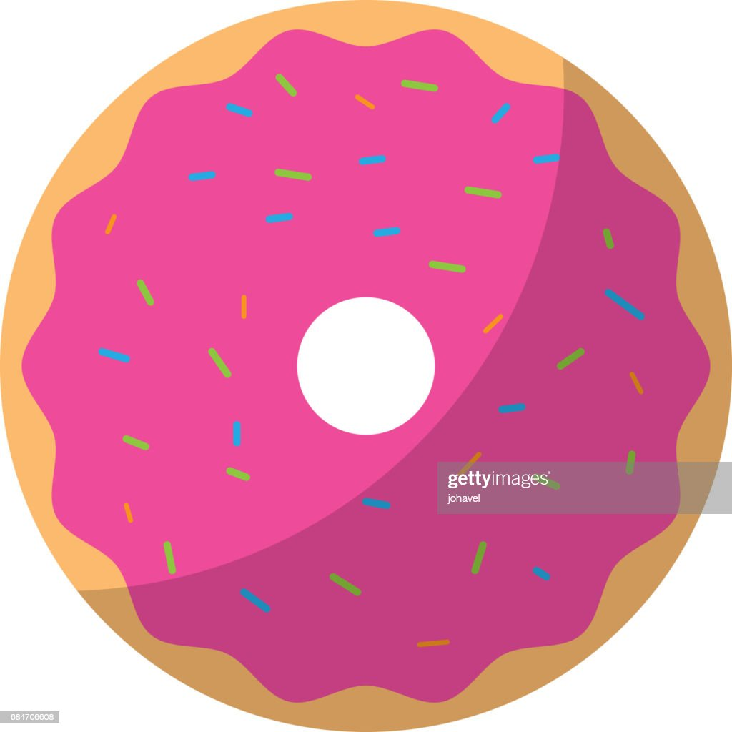 sweet and delicious donut