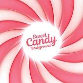 Sweet candy swirl background