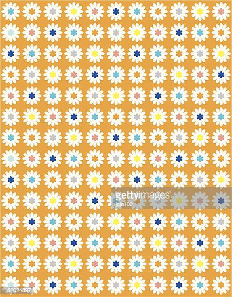 Sweet Daisy Dotty Floral in Repeat