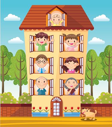 sweet family - gettyimageskorea