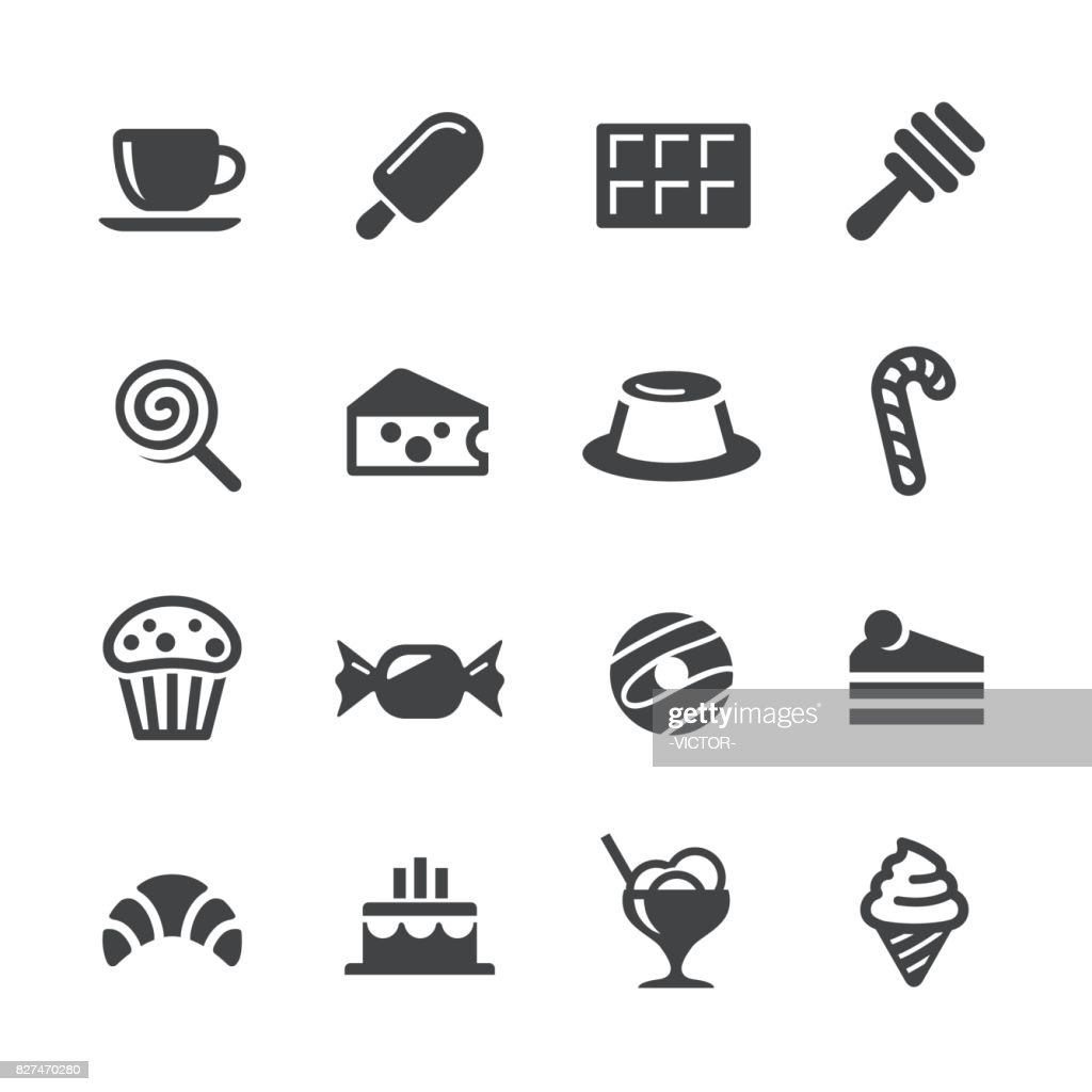 Sweet Food Icons - Acme Series