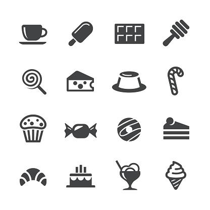 Sweet Food Icons - Acme Series - gettyimageskorea