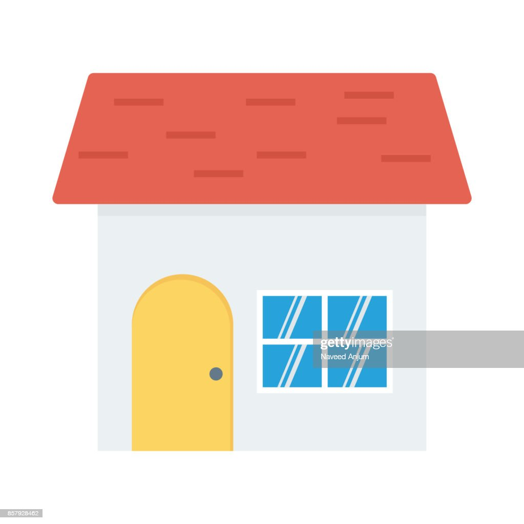 Sweet home Flat Vector Icon