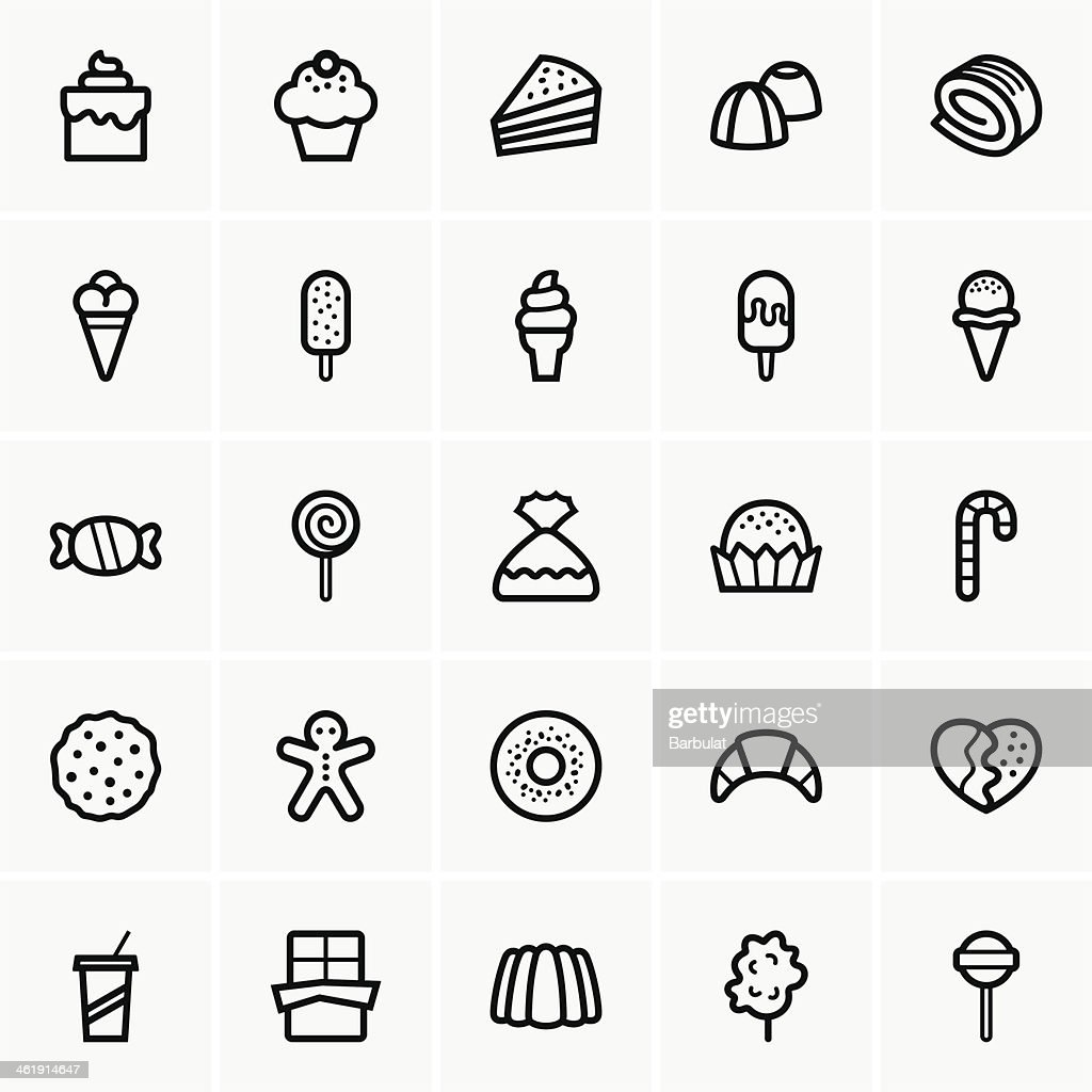 Sweets icons
