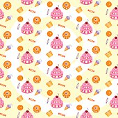 sweets vektor illustration