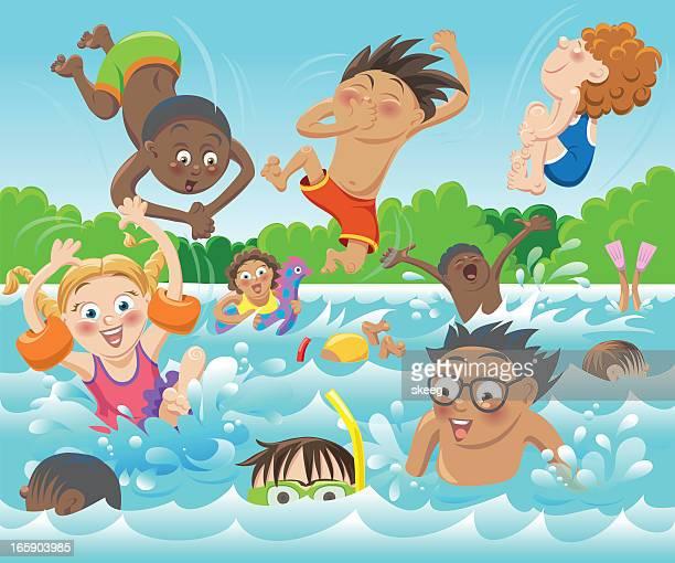 Illustrations et dessins anim s de piscine getty images - Clipart piscine ...