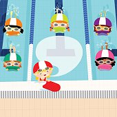 Free Swim Lesson Clipart and Vector Graphics - Clipart.me