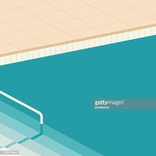 illustrations, cliparts, dessins animés et icônes de piscine - piscine