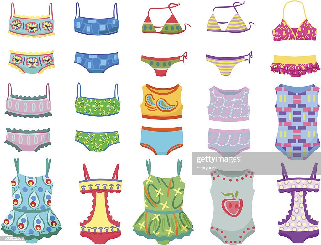 Swimwears for little girls